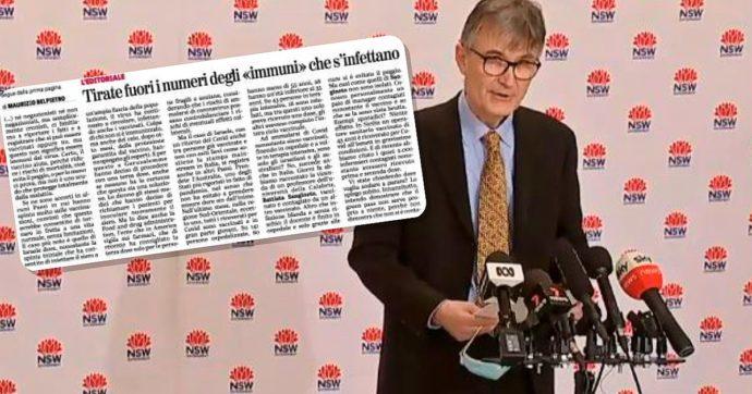 """""""Tirate fuori i numeri"""". Sì, ma quelli giusti: La Verità riprende una bufala su ricoveri e vaccini in Australia, era già stata smentita a luglio"""