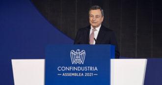 Draghi inciampa sulla storia economica: i dati non confermano la tesi secondo cui la conflittualità italiana ha frenato il Pil più che altrove