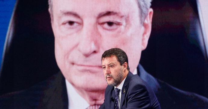 """Salvini si aggrappa a Draghi: """"Sulle tasse dà ragione alla Lega"""". Ma il premier dice altro. E sul green pass è netto: """"Strumento di libertà"""""""