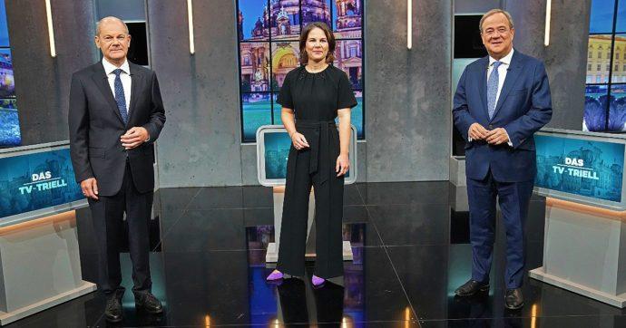 Germania al voto, Scholz (Spd) contro Laschet (Cdu): chi sono i due candidati alla cancelleria. Baerbock pronta a portare i Verdi nel governo