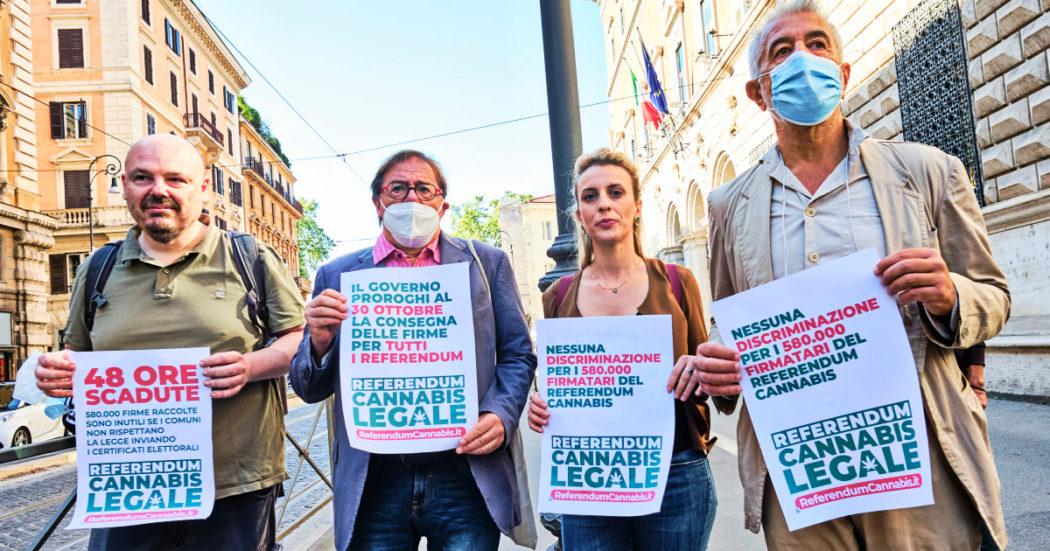 """Referendum cannabis, Comuni in ritardo sui certificati elettorali. Cappato: """"Governo intervenga o è responsabile del sabotaggio"""". Segnali da Pd e M5s"""