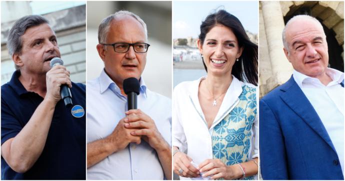 Manifesti, promozioni sui giornali e bus col proprio volto: chi spende di più tra i quattro candidati sindaci di Roma? Ecco la classifica