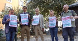 """Cannabis legale, sit-in davanti al ministero della Giustizia: """"Comuni in ritardo. Senza proroga al 31 ottobre il referendum è a rischio"""""""