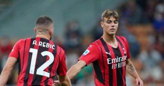Daniel Maldini porta in vantaggio il Milan a La Spezia ed entra nella storia: è il terzo della dinastia a segnare con la maglia rossonera