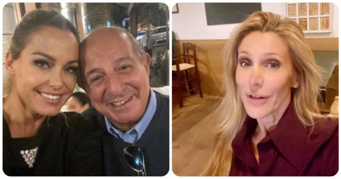Grande Fratello Vip, Sonia Bruganelli a cena con Giancarlo Magalli: Adriana Volpe sbotta e pubblica una chat privata