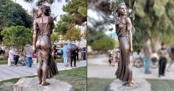 La statua della spigolatrice di Sapri non è sessista, ma semplicemente brutta