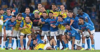 Napoli calcio: bisogna esser cauti, ma 'ora o mai più'!
