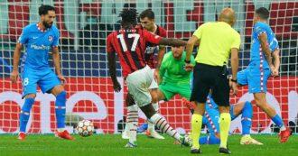 Milan, che beffa: l'Atletico Madrid vince 2 a 1 con un rigore molto dubbio nel recupero. I rossoneri hanno retto per un'ora in dieci