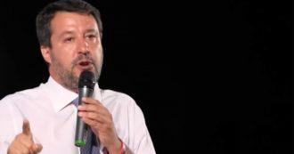 """Morisi, Salvini al comizio difende (senza nominarlo) l'ex guru dei social: """"Nella vita si può sbagliare, importante è rialzarsi con umiltà"""""""