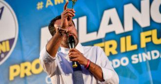 """Salvini al contrattacco: """"Giorgetti? A Roma si riparte in periferia, non dai salotti di Calenda"""". E su Morisi: """"È un attacco politico alla Lega"""""""