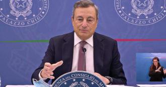 """Morti sul lavoro, Draghi legge i nomi delle vittime: """"Cordoglio ai familiari, fenomeno che assume i contorni di una strage"""" – Video"""