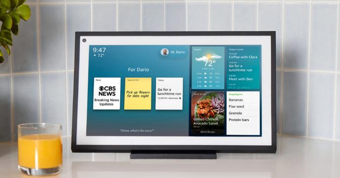 Amazon amplia la sua offerta per la smarthome: in arrivo Echo Show 15, Eero Pro 6 ed il nuovo Blink Video Doorbell