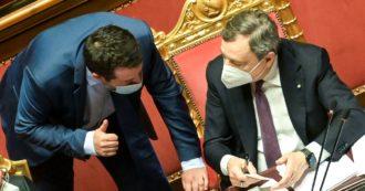 """Lega spaccata, ora Salvini attacca Draghi: """"Tutta Europa riapre, dica perché noi no"""". Nessun giornalista chiede replica al premier"""