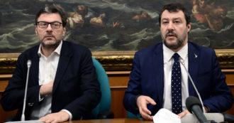"""""""Lo scontro tra me e Giorgetti? Un'invenzione"""". Salvini nega, ma il ministro ha già il suo piano: tornare al Nord sfruttando il flop alle elezioni"""