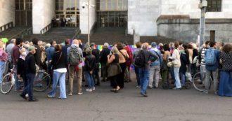 Mimmo Lucano, manifestazioni spontanee dopo il verdetto. Da Fiorella Mannoia a Gad Lerner, la solidarietà della società civile