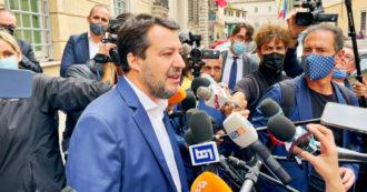 """Delega fiscale, Salvini: """"Non firmo, è una patrimoniale. Lega fuori dal governo? Noi siamo dentro, uscissero Letta e Conte"""""""