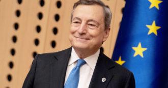 """Draghi: """"Il governo non segue il calendario elettorale. Salvini? Lo vedrò a giorni ma riforma del catasto non è una patrimoniale"""""""