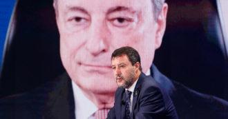"""Governo, Salvini vede Draghi: """"D'ora in poi confronto una volta a settimana"""". Palazzo Chigi: """"Impegno sulle tasse e le riaperture"""""""