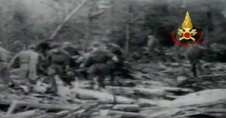 58 anni fa il disastro della diga del Vajont: nelle immagini dei vigili del fuoco la tragedia del il 9 ottobre 1963