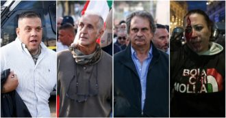 The former Nar Luigi Aronica, the leaders of Forza Nuova, the 'dolphin' of Castellino and the leader of IoApro: who are those arrested for guerrilla warfare in Rome