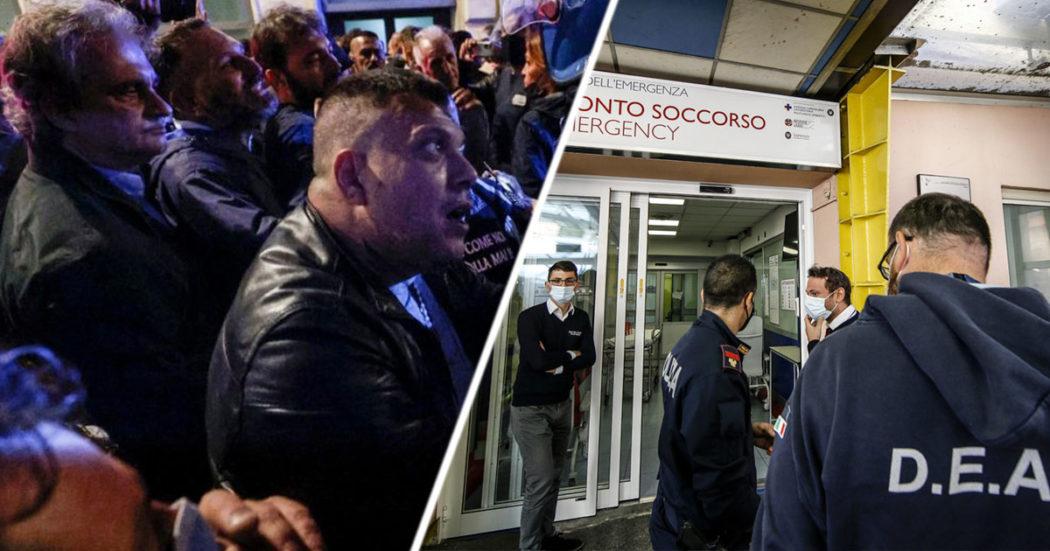 """Assalto alla Cgil, 12 arresti: anche Castellino e Fiore (Forza Nuova) e l'ex Nar Aronica. Conte e Letta coi sindacati: """"Sciogliere gruppi neofascisti"""""""