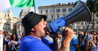 Giuliano Castellino, dallo stadio ai No Vax: chi è il leader di Forza Nuova sorvegliato speciale che cade sempre in piedi