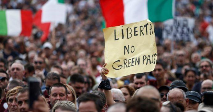No green pass, dire che a Roma erano tutti fascisti è il più grande regalo che possiamo fare ai fascisti