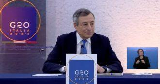 """Draghi: """"Sciogliere Forza Nuova? Stiamo riflettendo. Questione è all'attenzione del governo e dei magistrati"""""""