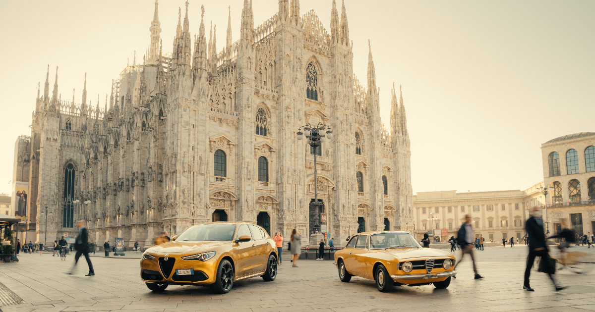 Alfa Romeo Stelvio GT Junior, la serie speciale e nostalgica – FOTO