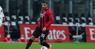 Theo Hernandez positivo al Covid: il terzino del Milan salta la gara di Serie A con il Verona