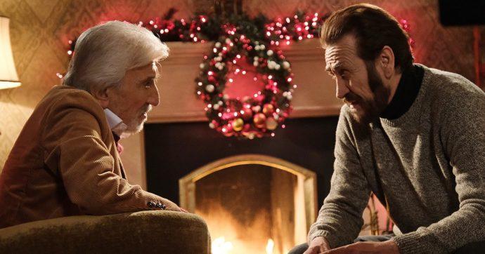 """Io sono Babbo Natale, l'ultimo film con Gigi Proietti. Marco Giallini: """"Un privilegio lavorarci insieme"""""""