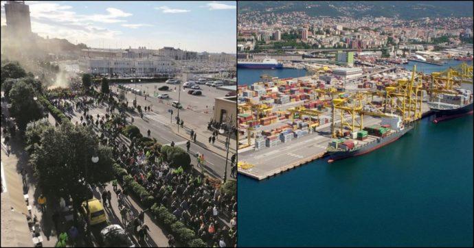 """Il green pass a Trieste spacca anche l'asse tra i portuali e il presidente della Port Authority D'Agostino: """"Vuole dimettersi? Arrivederci"""""""