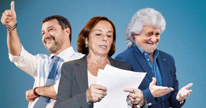 In Edicola sul Fatto Quotidiano del 13 Ottobre: Porti e logistica. Dopo l'appello di Grillo, il pressing di Salvini e i cortei a Trieste, Lamorgese apre ai test gratuiti