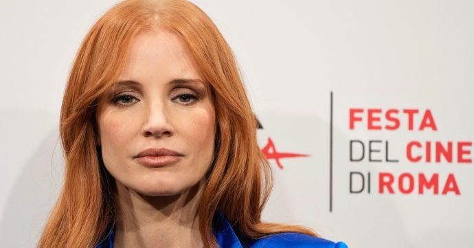 Festa di Roma, Jessica Chastain star assoluta con il film di apertura Gli occhi di Tammy Faye