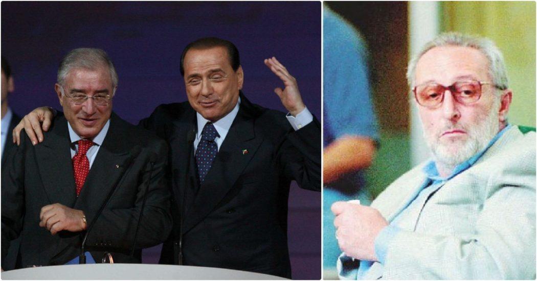 """Dopo 25 anni Dell'Utri ammette: """"Mangano ad Arcore? Poteva tenere lontano i malintenzionati, c'erano i rapimenti. Berlusconi vide lui e Cinà e disse: accidenti che facce!"""""""