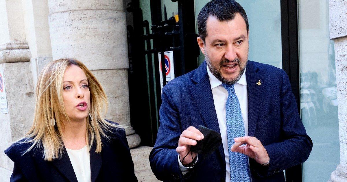 Destra accerchiata: Salvini & Meloni contro la piazza Cgil