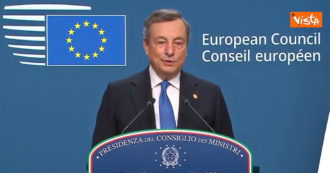 """Polonia, Draghi: """"Messi in discussione i principi dell"""