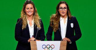 Sofia Goggia portabandiera dell'Italia ai Giochi olimpici invernali di Pechino 2022. Michela Moioli scelta per la cerimonia di chiusura