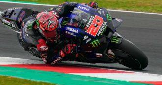 MotoGp, a Misano vince Marquez e cade Bagnaia: Quartararo vince il Mondiale. La festa per Rossi alla sua ultima gara in Italia
