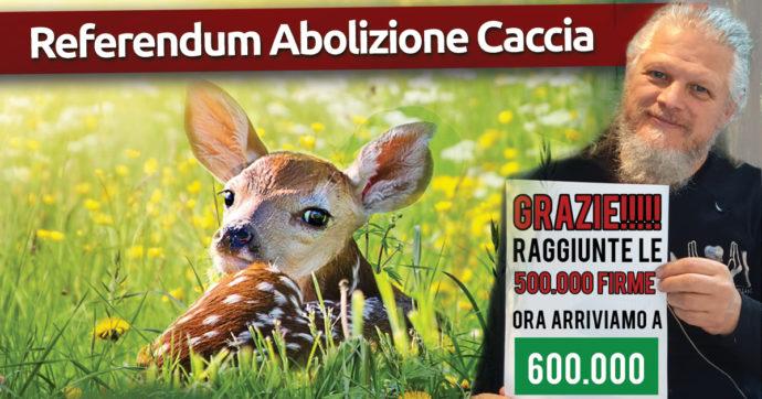 """Referendum sull'abolizione della caccia, raggiunto l'obiettivo del mezzo milione di firme: """"Altre 100mila e poi il voto"""""""
