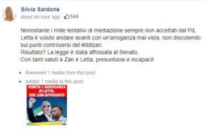 """Il post contestato della leghista Sardone: il deputato dem Zan circondato da un alone rosa. """"Come gli spot sull'Aids degli Anni Novanta"""""""